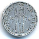 Южная Родезия, 3 пенса (1934 г.)