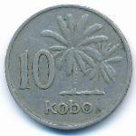 Нигерия, 10 кобо (1973–1976 г.)
