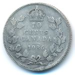 Канада, 10 центов (1936 г.)