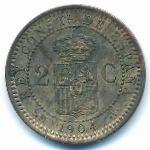 Испания, 2 сентимо (1904 г.)