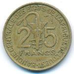 Западная Африка, 25 франков (1981 г.)