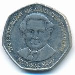 Ямайка, 1 доллар (1996–2006 г.)