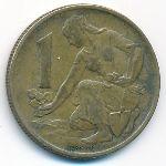 Чехословакия, 1 крона (1980 г.)