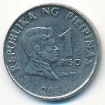 Филиппины, 1 песо (2004–2015 г.)