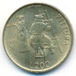Сан-Марино, 200 лир (1997 г.)