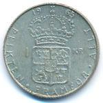 Швеция, 1 крона (1962–1968 г.)