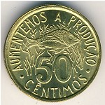 Sao Tome and Principe, 50 centimos, 1977