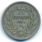 Чили, 20 сентаво (1922–1924 г.)