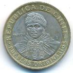 Чили, 100 песо (2008 г.)