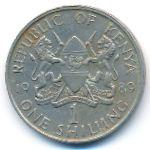 Кения, 1 шиллинг (1980–1989 г.)
