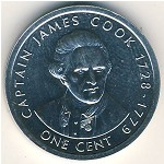 Cook Islands, 1 cent, 2003