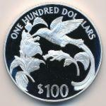 Ямайка, 100 долларов (1987 г.)