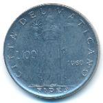 Ватикан, 100 лир (1960–1962 г.)