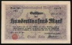 Германия, 100000 марок (1923 г.)