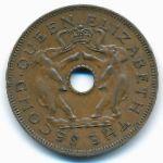 Родезия и Ньясаленд, 1 пенни (1956–1963 г.)