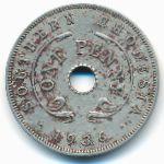 Южная Родезия, 1 пенни (1936 г.)