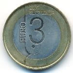 Словения, 3 евро (2010 г.)
