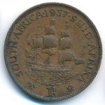 ЮАР, 1 пенни (1937 г.)