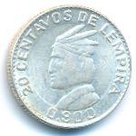 Гондурас, 20 сентаво (1931–1958 г.)