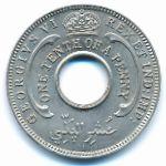 Британская Западная Африка, 1/10 пенни (1938–1946 г.)