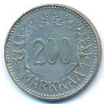 Финляндия, 200 марок (1957 г.)