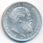 Вюртемберг, 3 марки (1912 г.)