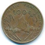 Французская Полинезия, 100 франков (1976–2005 г.)