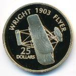 Соломоновы острова, 25 долларов (2005 г.)