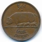 Ирландия, 1/2 пенни (1935–1937 г.)
