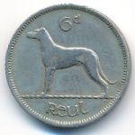 Ирландия, 6 пенсов (1950 г.)