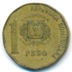 Доминиканская республика, 1 песо (1991–1992 г.)