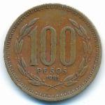 Чили, 100 песо (1981–1987 г.)