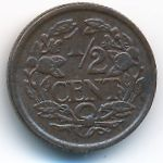 Нидерланды, 1/2 цента (1940 г.)