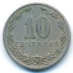 Аргентина, 10 сентаво (1905–1938 г.)