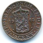 Нидерландская Индия, 1/2 цента (1945 г.)