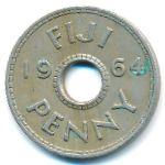 Фиджи, 1 пенни (1954–1968 г.)