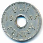 Фиджи, 1 пенни (1967 г.)