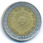Аргентина, 1 песо (1994–2009 г.)