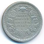Британская Индия, 1/2 рупии (1942–1944 г.)