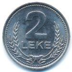 Албания, 2 лека (1989 г.)