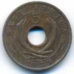Восточная Африка, 5 центов (1925 г.)