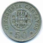 Ангола, 50 сентаво (1927–1928 г.)