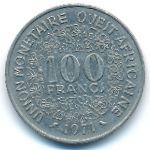 Западная Африка, 100 франков (1971 г.)