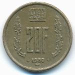 Люксембург, 20 франков (1980–1982 г.)
