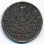 Гаити, 20 сентим (1863 г.)