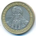 Чили, 100 песо (2010 г.)
