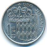 Монако, 1 франк (1960–1989 г.)