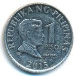 Филиппины, 1 песо (2015 г.)