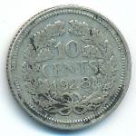 Нидерланды, 10 центов (1928 г.)