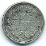 Нидерланды, 10 центов (1930 г.)